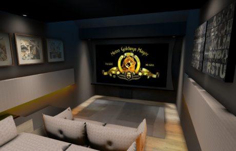 Private cinema hall Lille