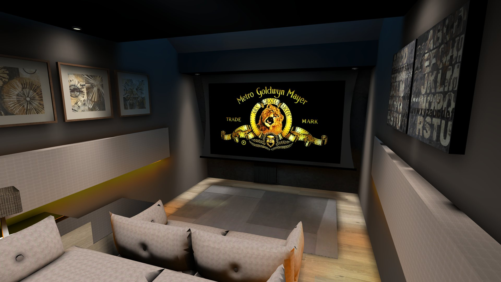 Salle de cinéma privée Lille