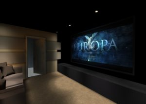 Private cinema room Montpellier