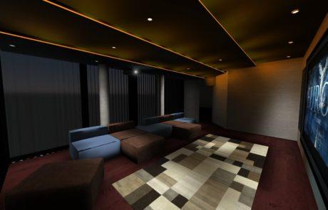 Private cinema room Montpellier